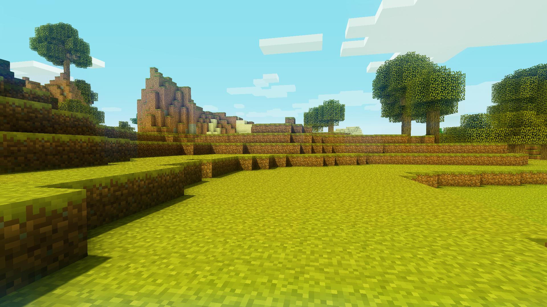 Красивые пейзажи minecraft