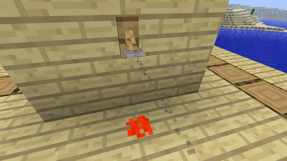 Что делает крюк в Minecraft