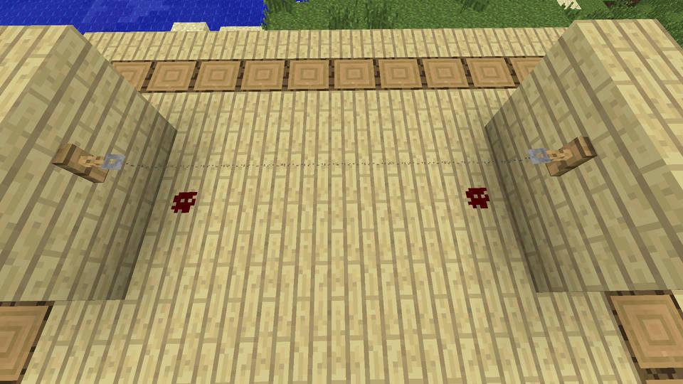 Растяжка в Minecraft