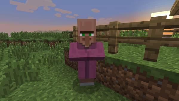 Священник в Minecraft