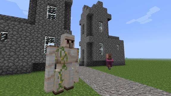 Железный голем Minecraft