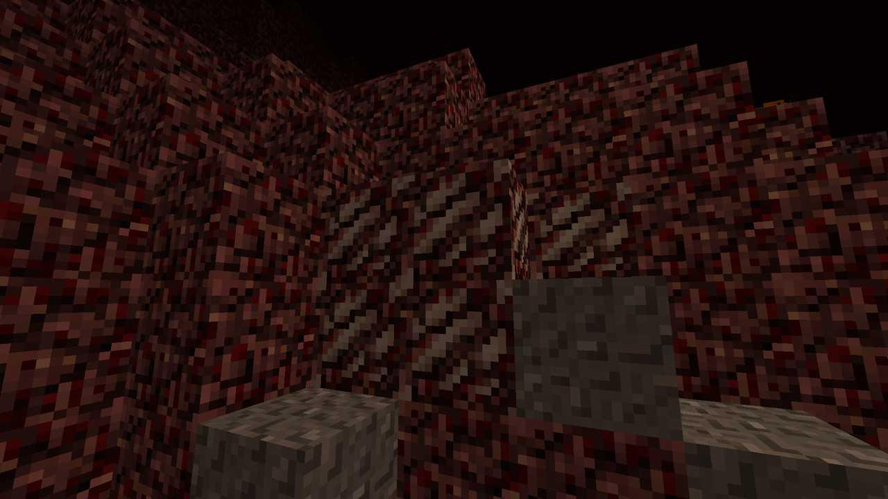 Кварц нижнего мира в minecraft