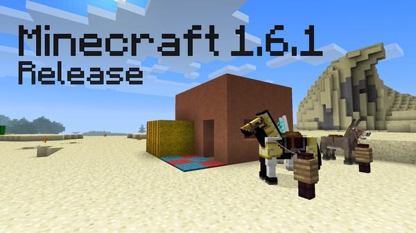 Лошадки и все все все в Minecraft 1.6.1