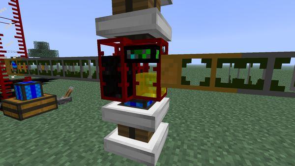 Переработка нефти в топливо Buildcraft